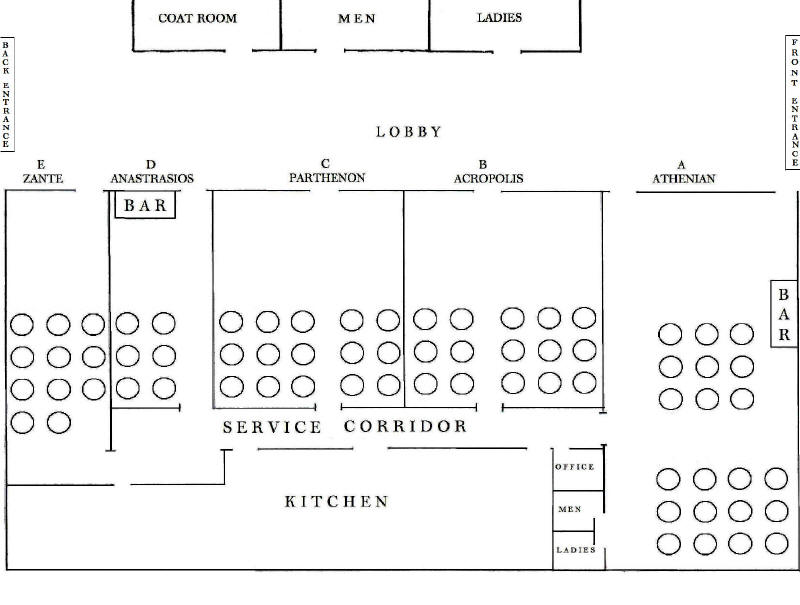 Athena Hall Banquet Center Floor Plans